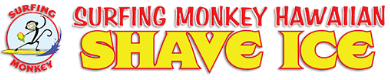 Surfing Monkey Shave Ice